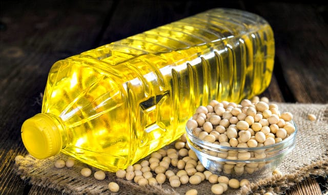 soybeans and soy oil