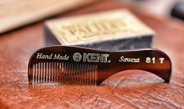 kent mustache comb is the best beard comb