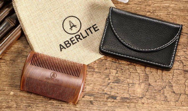 aberlite comb for bearded men