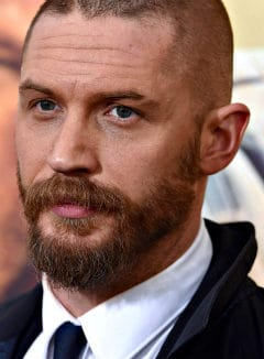 tom hardy with a full beard
