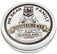 a tin of mustache wax by mr bear family
