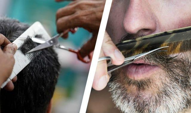 hair scissors vs mustache scissors