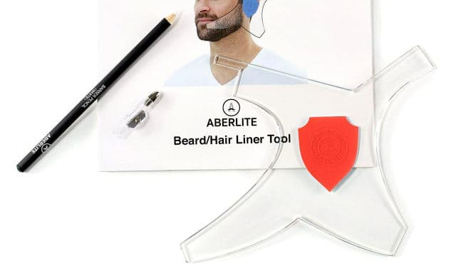 aberlite beard shaping template