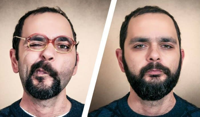 man with goatee versus a full beard
