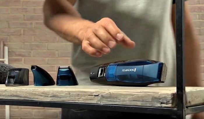 remington vacuum beard trimmer