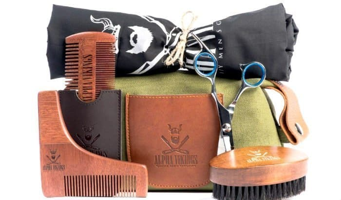alpha vikings beard trimming kit