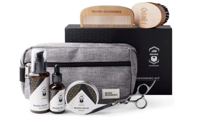 beard reverence complete beard care kit
