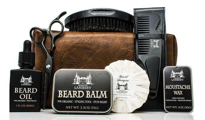 maison lambert ultimate beard kit black