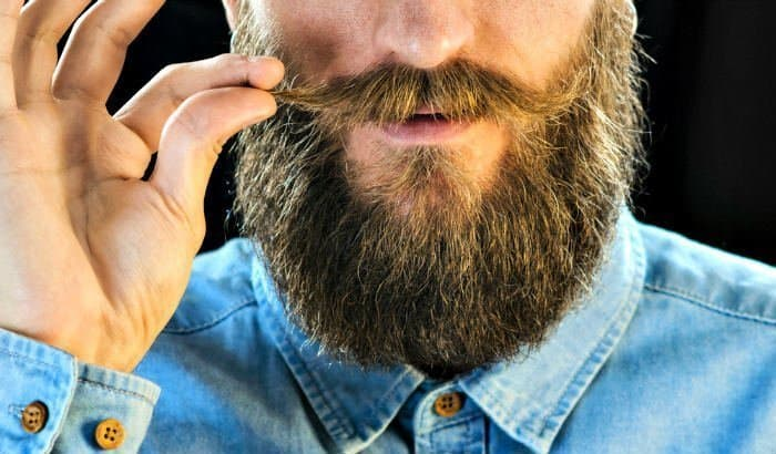 how to apply coconut oil to beard