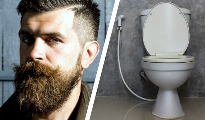 beard vs toilet seat