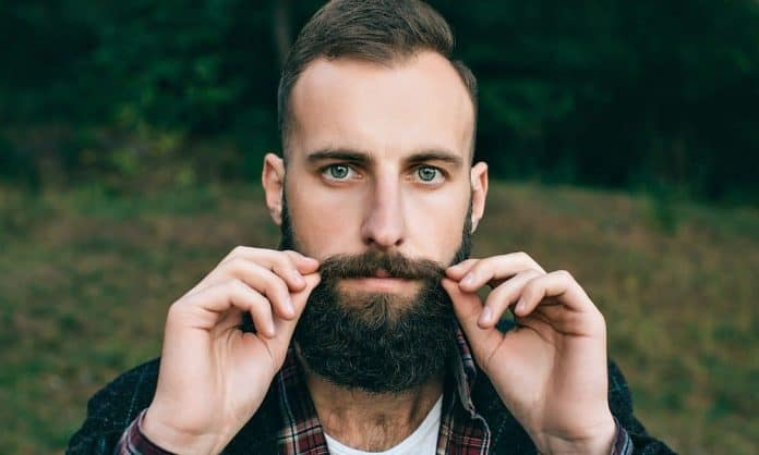 man with a perfect beard