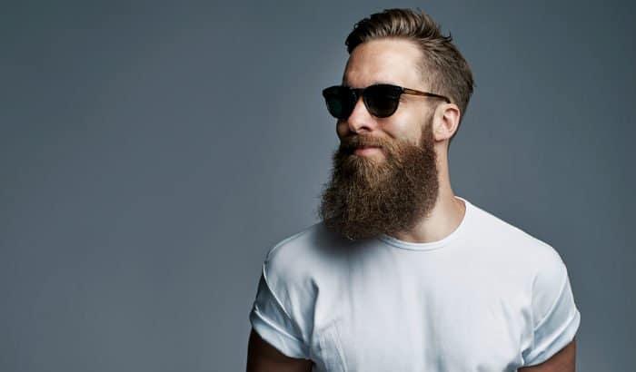 beard and sunglasses
