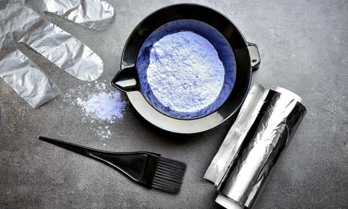 beard dye materials