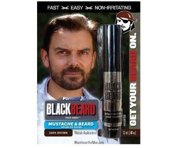 black beard for men color