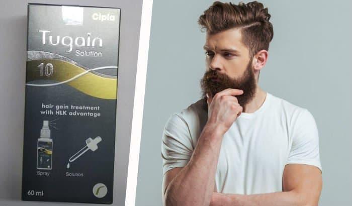 tugain 10 minoxidil beard spray
