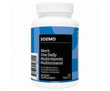 amazon solimo multivitamin