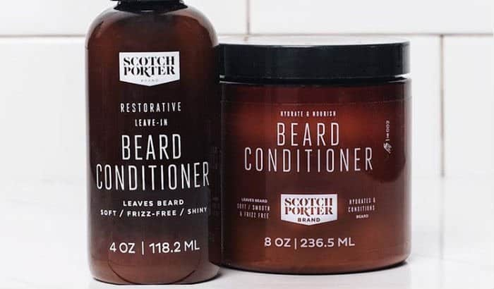 beard conditioner bottles