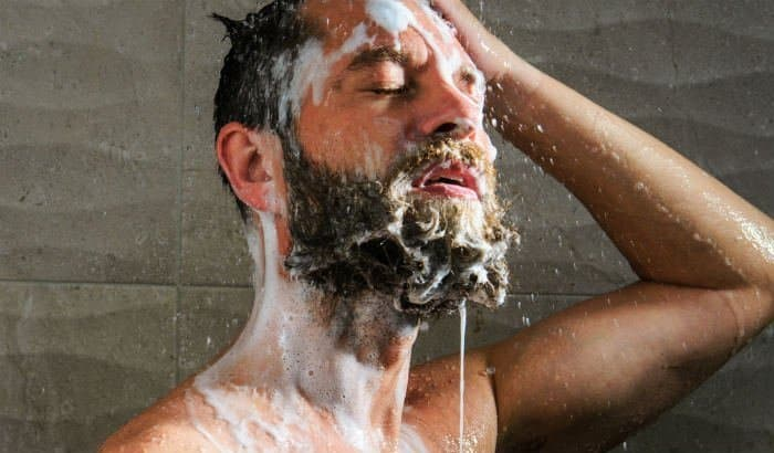 beard washing