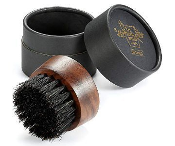 bfwood travel size beard brush