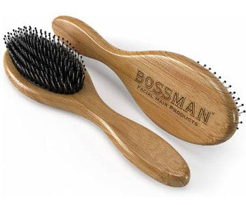 bossman bamboo beard brush