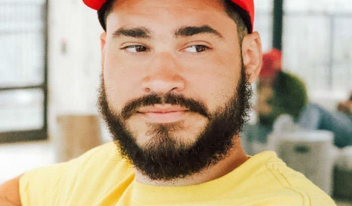 natural 8 week beard