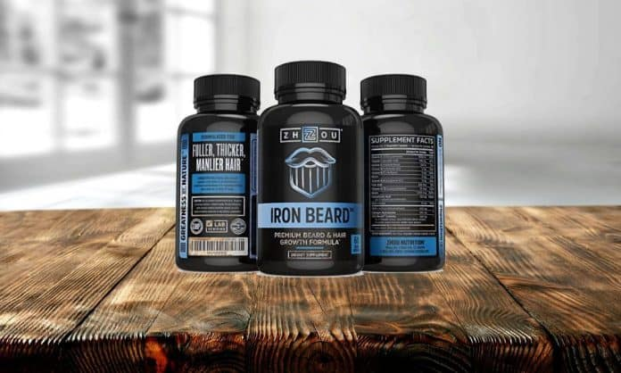 zhou nutrition iron beard