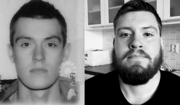 beard vs no beard passport