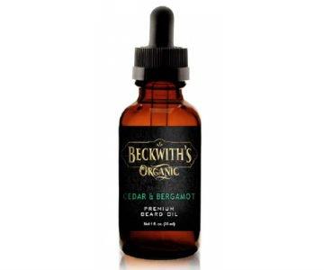 beckwiths organic beard oil
