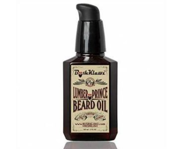 bush klawz lumber prince beard oil