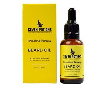 seven potions beard oil
