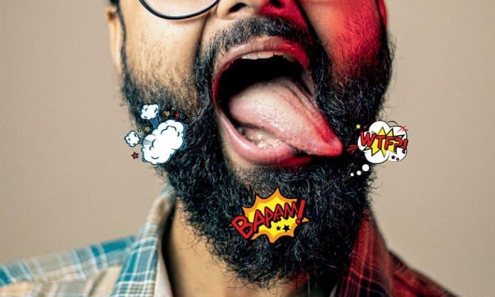 beard pain