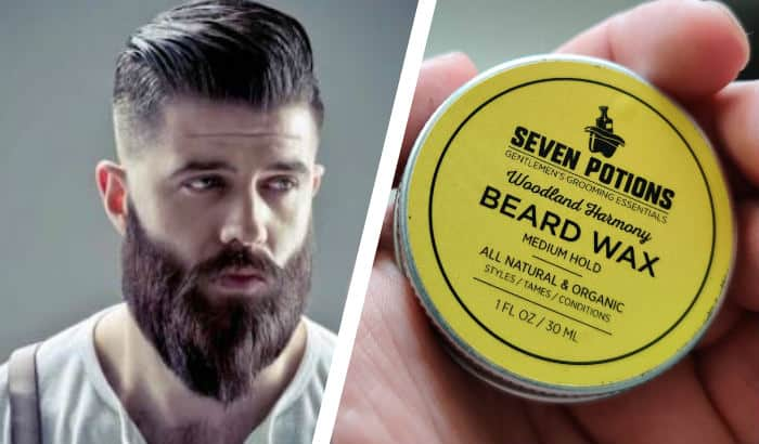 beard products for ducktail style