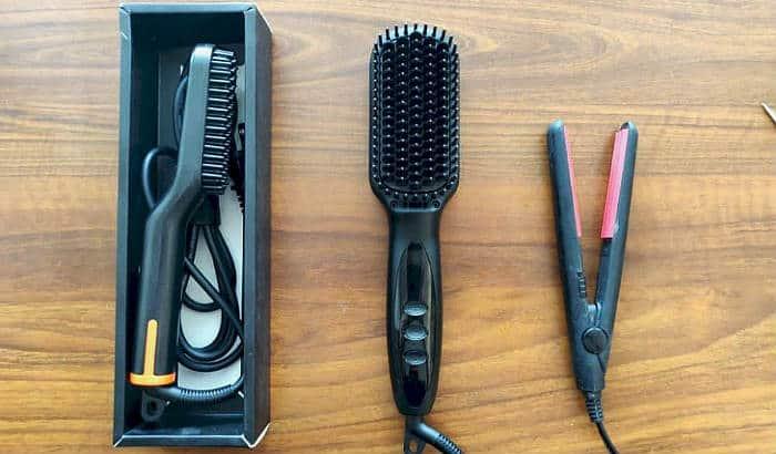 beard straightening tools