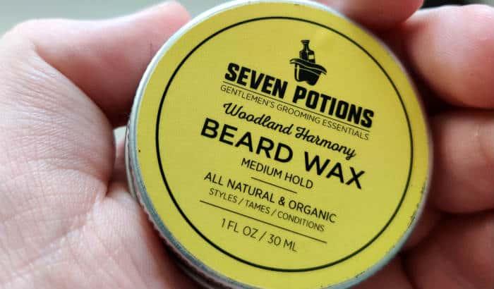 beard wax tin