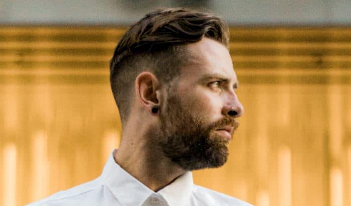 beards neckline sideview