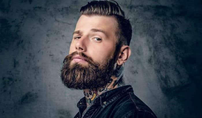 thick garibaldi beard