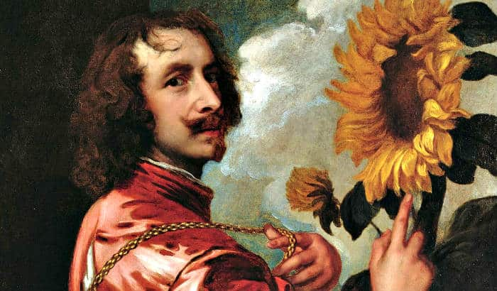 anthony van dyck and his beard