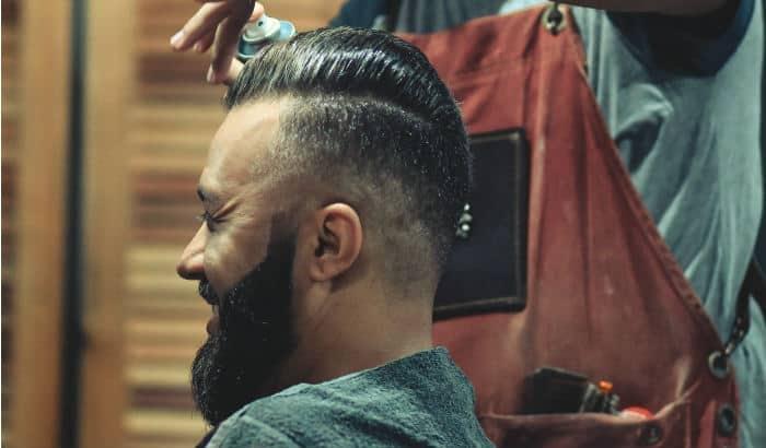 barbershop beard shaping