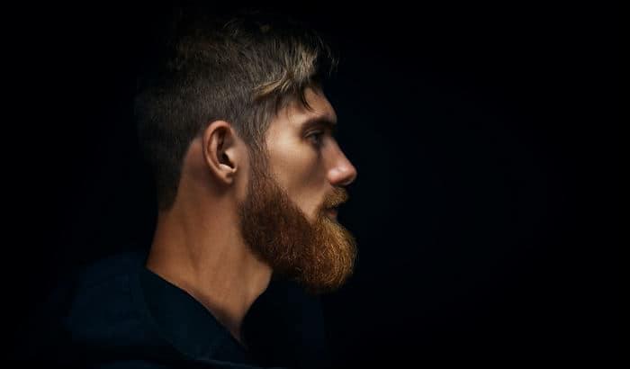 beard to hide weak jawline