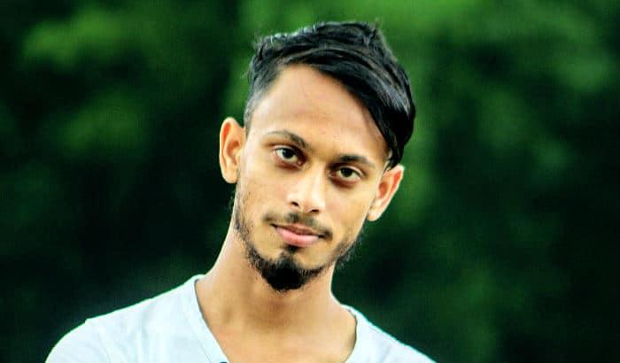 black van dyke beard