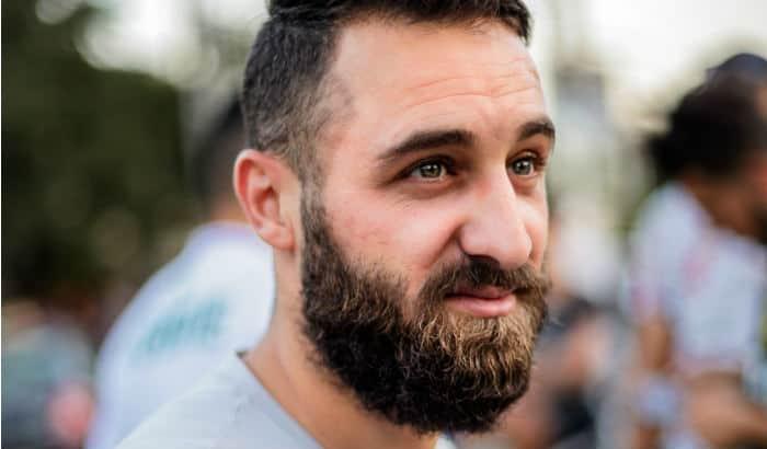 classic full beard