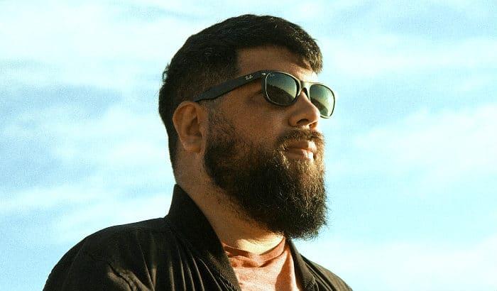 ducktail beard on a big guy