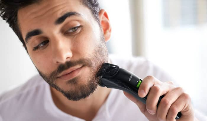 how to trim a stubble