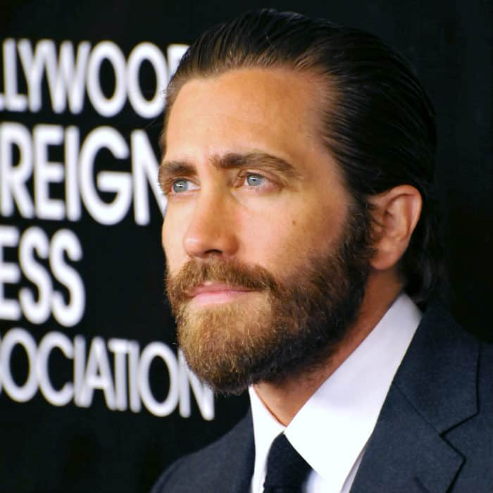 jake gyllenhaal boxed beard