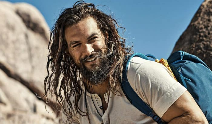 jason momoa ducktail beard diamond face