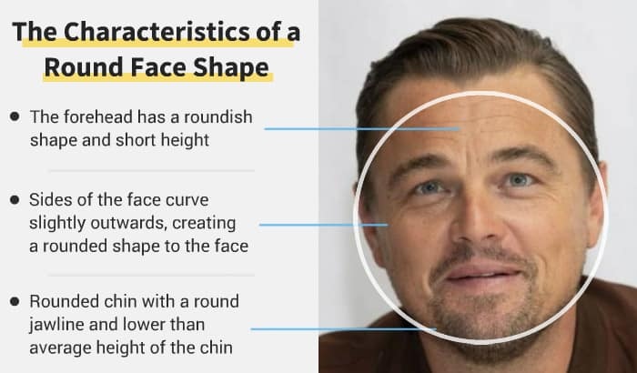 round face shape example