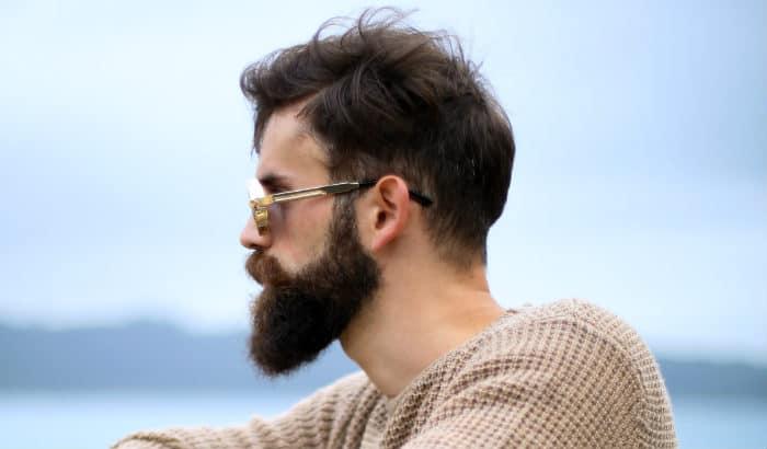 short ducktail beard