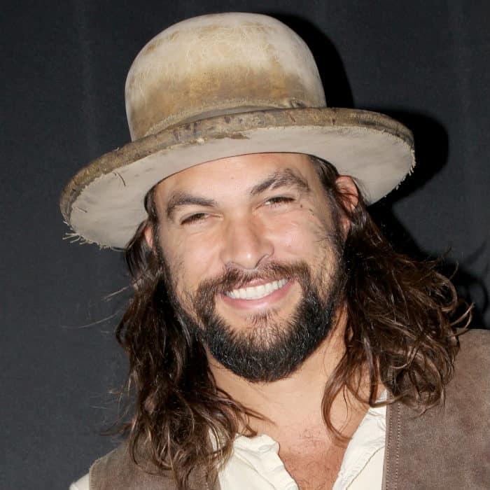 jason momoa hat and beard