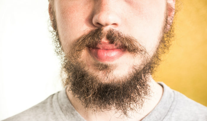 wispy beard